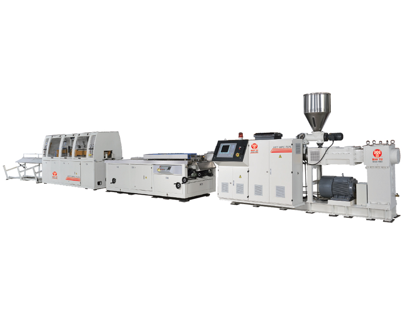 RePet Wood WPC Profile Extrusion Line