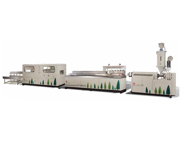 WPC Profile Extrusion Line, WPC Extruder