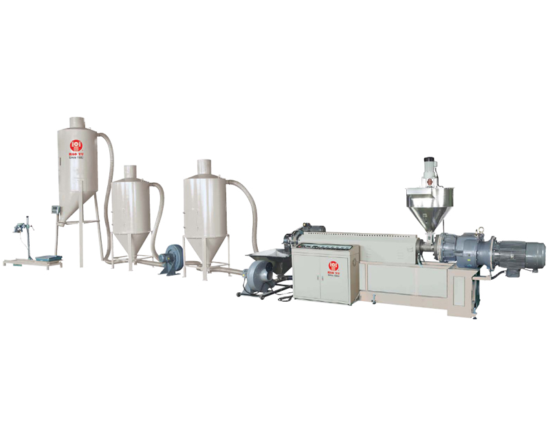 Plastic Pelletizing Machine, Pelletizer Extrusion Line