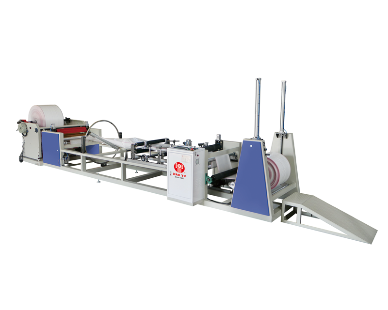 Gusset Bag Making Machine, Roll To Roll Twist Gusset Machine