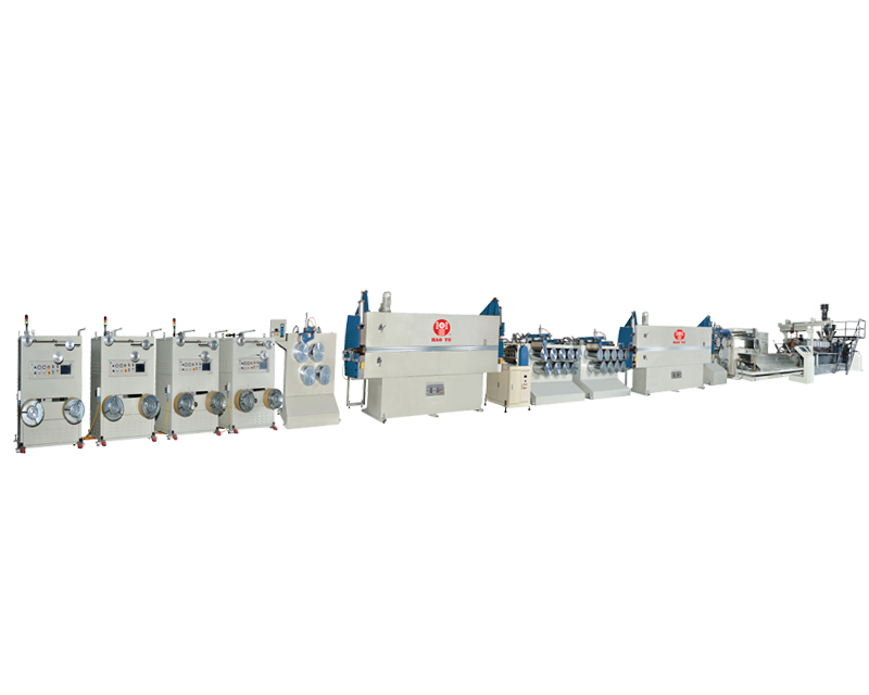Twin Screws PET strapping Band Extrusion Line