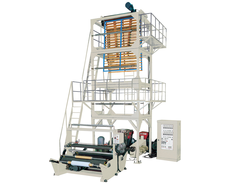 Two Layer / Multilayer Film Blowing Extrusion Plant and Machine